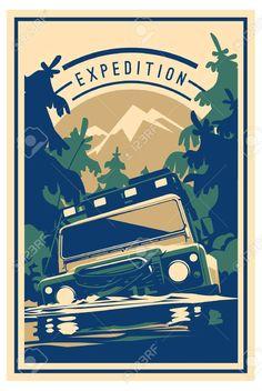 Car Vector, Vector Art, Jeep 4x4, Banner Printing, Screen Printing, Adventure 4x4, Road Logo, Crazy Wallpaper, Car Tags