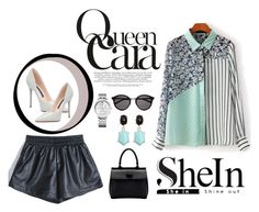 """shein"" by nylover-998 ❤ liked on Polyvore featuring Yves Saint Laurent and Tommy Hilfiger"