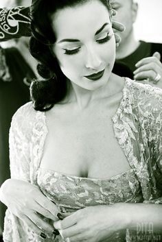 Dita Von Teese, one of the most beautiful women alive.