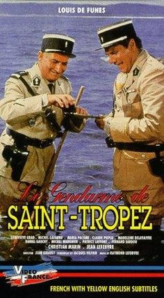 Le gendarme de Saint-Tropez - Oh,how much I LOVED all the movies with Louis de Funès!And I can still watch them over and over again - they never get boring!