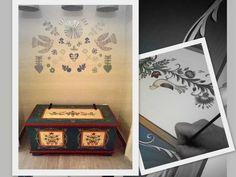Bútorfestés, festett bútorok: Tulipános láda Hungary, Decorative Boxes, How To Make, Home Decor, Decoration Home, Room Decor, Home Interior Design, Decorative Storage Boxes, Home Decoration
