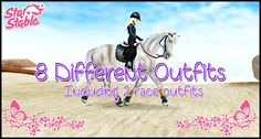 ★ 8 Different Outfits ★ - Star Stable Online
