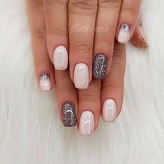 Beauty Nails - do it yourself design # nail polish # gel .- Beauty Nails – do it yourself nail design # nail polish # gel nails # nail design … – # gel nails - Fancy Nails, Love Nails, My Nails, Shellac On Short Nails, Short Nails Acrylic, Pink Shellac Nails, Dark Gel Nails, Pretty Gel Nails, Pretty Short Nails