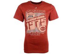 Cincinnati Reds Majestic MLB Men's Headline Celebration T-Shirt