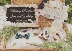 結婚式の受付に飾りたいウェルカムアイテムまとめ