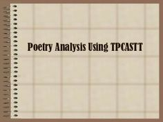 poetry analysis essay powerpoint How to write a poetry analysis essay powerpoint by emmaline85 that goes through how to write a detailed literary analytic essay using evidence to support and explain.