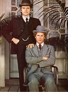"""Alias Smith & Jones"" with Pete Duel and Ben Murphy"