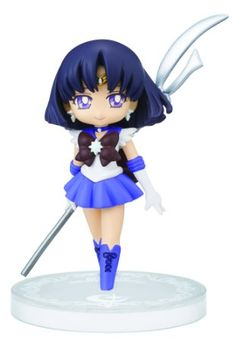 "Banpresto Sailor Moon Collectible Figure for Girls 2.4"" Sailor Saturn Figure, Volume 4"