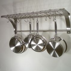 Pot Rack Wall Mount