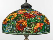 tiffany studios oriental poppy ||| lighting ||| sotheby's n09358lot7y5knen