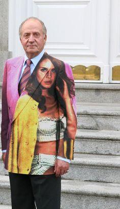 Lana Del Rey and the King of Spain (AEBetako kantari hau meme bat bihurtu da bere baitan)