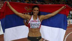 #IVANASPANOVIC #SilverMedal #LongJump #Serbia #EuroAthleticsZurich2014