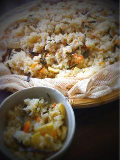タケノコや旬なモノはどれも柔らかく美味しかったぁ - 71件のもぐもぐ - 今日のお昼は山菜おこわ by mizutamarondo