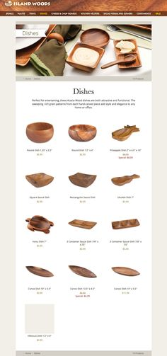 Kitchen Helper, Wood Bowls, Acacia Wood, Hand Carved, Woods, Grains, Carving, Entertaining, Island