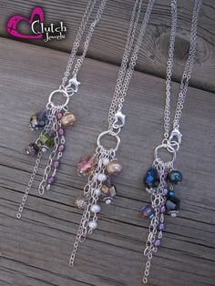 Handmade Jewelry - Alisa Necklaces -think these would make pretty earrings!