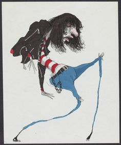 Untitled (Ramone) (1980-1990) by Tim Burton~
