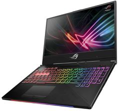 ASUS ROG Strix Hero II, laptop cu ecran 144Hz si Core i7 hexa-core Windows 10, Wi Fi, Teclado Qwerty, Razer Blade, Best Gaming Laptop, Game Codes, Memoria Ram, Disco Duro, Asus Rog