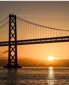 Bay Bridge at Sunset