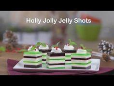 Holly Jolly Jello Shots recipe - from Tablespoon!