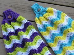 Chevron Kitchen Towel, Free Crochet Pattern | Crochet Dreamz | Bloglovin'