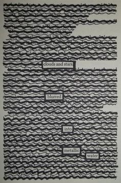 Blur | Black Out Poetry | C.B. Wentworth
