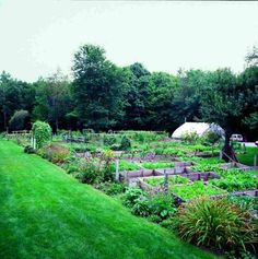 The chefs at Arrows in Ogunquit, ME started cultivating a two-acre garden over 20 years ago for their romantic restaurant.