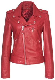 #Motorcycle #Leather #Jacket #MaritimeLeather.ca #maritimeleather.com The leather motorcycle jacket is the height of cool -- yet iconic enough to never go out of style. Not sure how to wear it? Choose the right cut and mix it up with softer basics to avoid looking too young or too Harley.