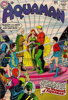Aquaman #18 - Aquaman and Mera get married