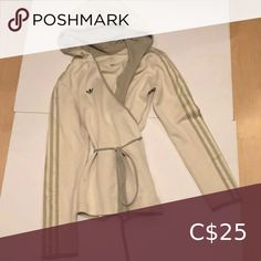 I just added this listing on Poshmark: Adidas wrap hoody top. #shopmycloset #poshmark #fashion #shopping #style #forsale #adidas #Tops