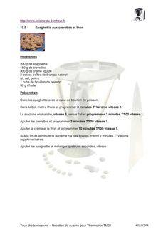 page 414 à 830 du livre pour le robot culinaire Vorwerk Thermomix