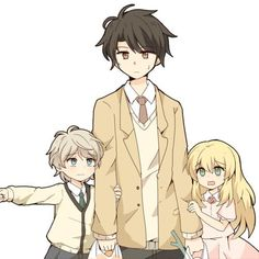 Aldnoah ZERO ★ Inaho, little Slaine, and little Asseylum #Anime