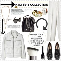 """H&M SS15 COLLECTION"" by helenevlacho ❤ liked on Polyvore"
