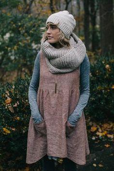 sew liberated's Metamorphosis Dress, made by dreareneeknits