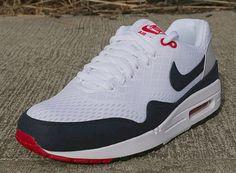 Nike Air Max 1 EM   Grey, Obsidian & Red