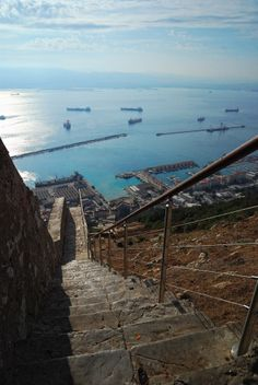 Very High Steps, Gibraltar
