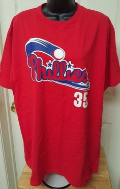 Genuine Merchandise Unisex Philadelphia Phillies #35 Cole Hamels T-Shirt Size L #GenuineMerchandise #PhiladelphiaPhillies