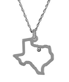 Very cool Necklace!  Maya Brenner Texas Pendant Necklace