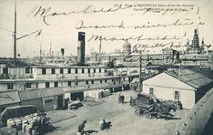 Port de Montréal/1905.   Benoit Brouillette   Flickr Photos Du, Old Photos, Vintage Photos, Welcome Photos, Old Port, Of Montreal, Canada, Great Lakes, Old Pictures