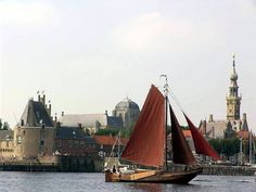 But, I remember the brown sails of the fishing boats in Hoorne when we visited my Oma's hometown with her on furlough. Travel Pictures, Travel Photos, Dutch People, Months In A Year, Fishing Boats, Belgium, Netherlands, Trip Advisor, Amsterdam