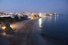Coast and beach in Portugal. Atlantic coast and beach at Albufeira in Algarve, P , Algarve, Hotel Safe, Spa Hotel, 5 Star Resorts, Hotels And Resorts, Europe Destinations, Honeymoon Destinations, Spain And Portugal, Visit Portugal