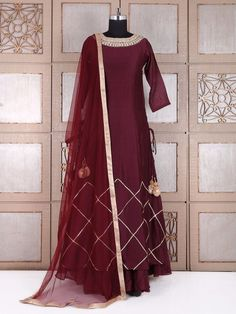 Salwar Kameez Shopping: Readymade Salwar Suits Collection, Buy Salwar Suits Online in India Silk Anarkali Suits, Salwar Suits Party Wear, Lehenga Gown, Party Wear Dresses, Ethnic Outfits, Indian Outfits, Indian Designer Outfits, Designer Dresses, Kurti Embroidery Design