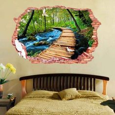 SHARE & Get it FREE | 3D Stereo  Nature Landscape Design Home Decor Wall StickersFor Fashion Lovers only:80,000+ Items·FREE SHIPPING Join Dresslily: Get YOUR $50 NOW!