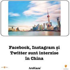 In China, Facebook, Twitter, Instagram