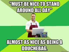 Funny Work Memes Customer Service Retail Robin New Ideas Funny Memes About Work, Work Jokes, Work Humor, Funny Work, Cashier Problems, Retail Problems, Girl Problems, Retail Robin, Blunt Cards