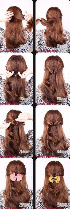 Beauty Make Up, Hair Beauty, Ponytail, Beauty Hacks, Braids, Makeup, Hairstyle Ideas, Hair Ideas, Hair Style