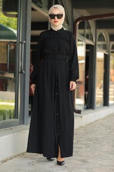 Black Hijab, Daily Dress, Hijab Dress, The Dress, Hijab Fashion, Nevada, Muslim, Shawl, Evening Dresses