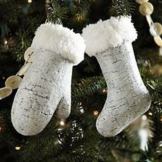 Mitten and Stocking...Ballard Designs