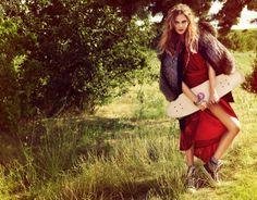 Editorial for Vogue, Weber #hunterandgatti #editorial #makeup #hair #style #stilish #beauty #model #woman #vogue #clothes #voguemagazine #weber