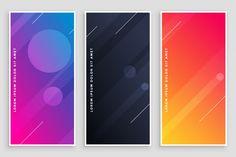 17 Contoh Desain X Banner Keren Ideas | Banner Design, Banner, Vector Free