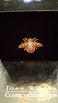 Joan Rivers Lily of the Valley Bee Pin by 3LittleWitches on Etsy